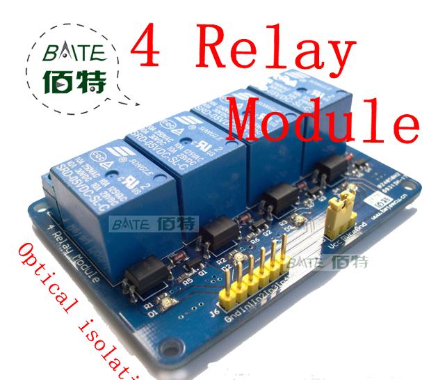 4 relé Arduino
