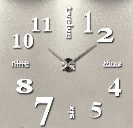 Hodiny nástěnné numerické