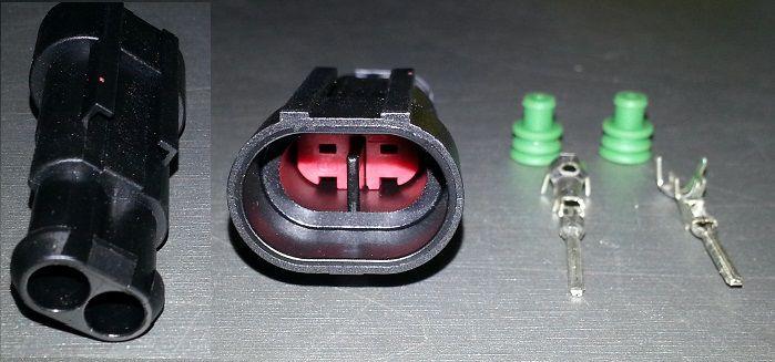 konektor 2 pinový